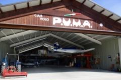 Hangar a Termon. Club volo P.U.M.A.