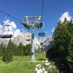 Bike Park Paganella Molveno zone in den Dolomiten
