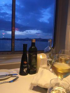 Tisch mit Ausblick Costa Victoria