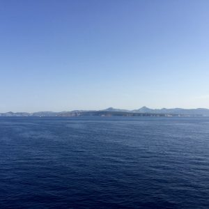 Blick von der Costa Victoria Richtung Menorca - Costa Kreuzfahrt im Mittelmeer