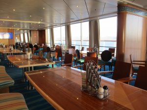 Buffet Bolero auf dem Schiff