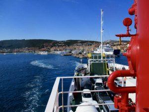 Fähre von Palau nach la Maddalena