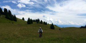 Io verso il monte Peller
