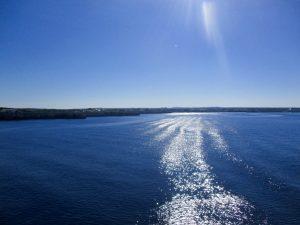 Richtung Menorca