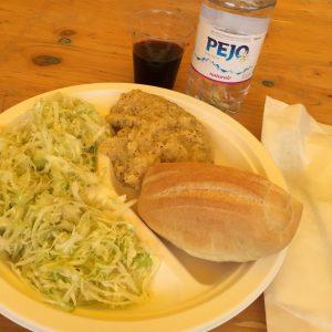 Il mio pranzo sulla malga Tasulla