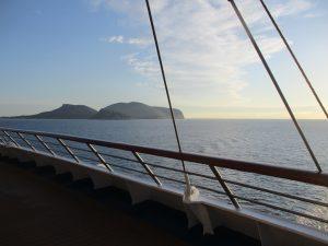 Sicht Costa Victoria - Mittelmeer