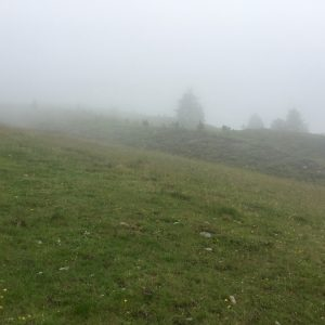 Nebel in Sölden