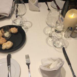 Unser Tisch im Fantasia Restaurant der Costa Victoria