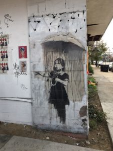 Banksy Kunst in New Orleans