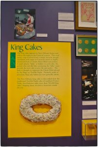 King Cake in New Orleans