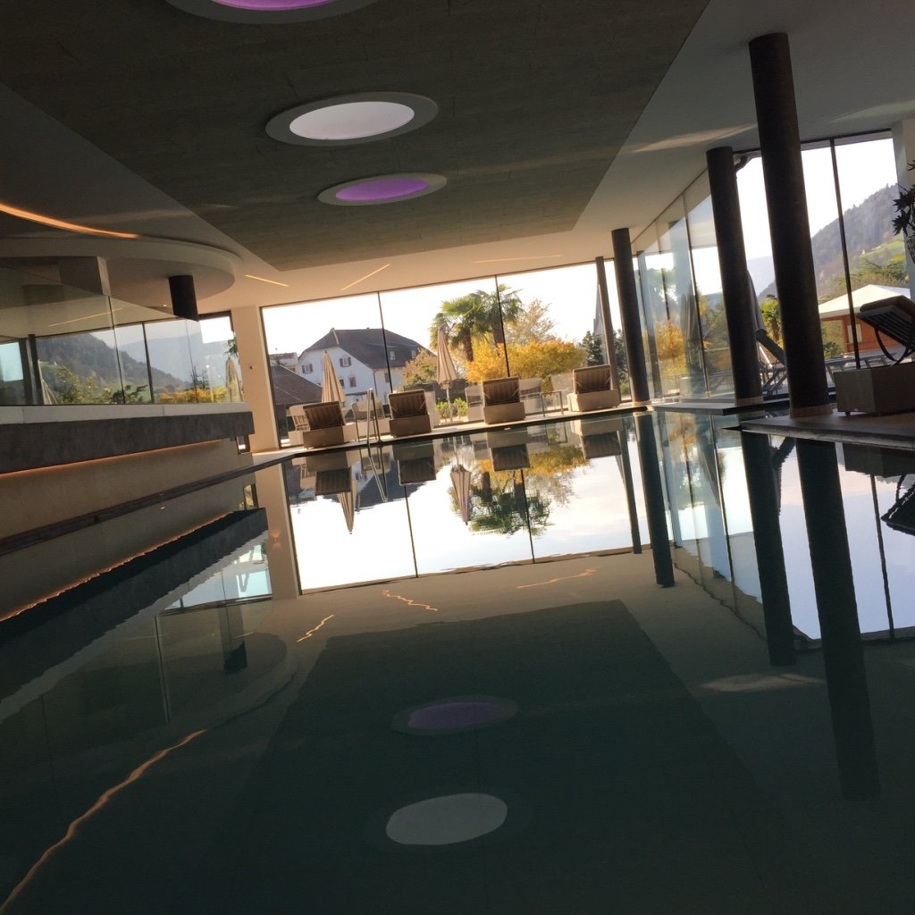 Waehrend des Day Spa Alpiana Resort
