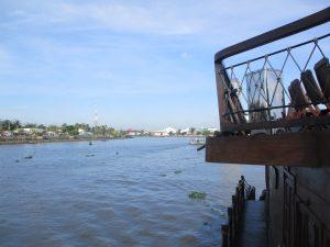 Auf Mekong Kreuzfahrt Richtung Can Tho