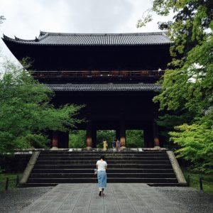Kyoto erkunden - Tor des Nanzen-ji