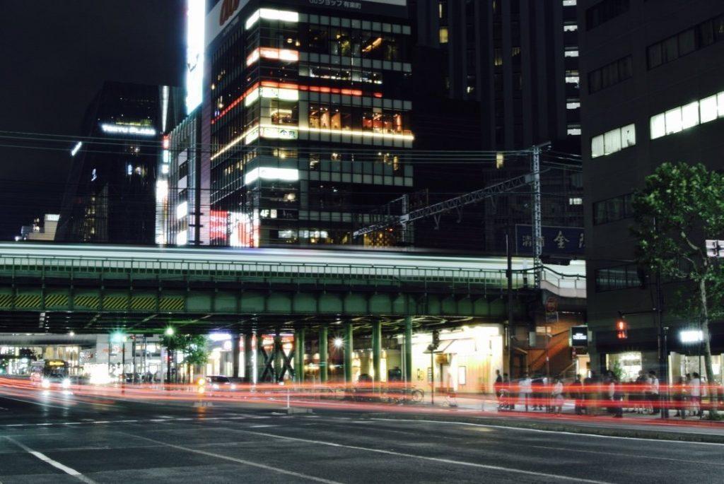 Tokyo entdecken - bei Nacht