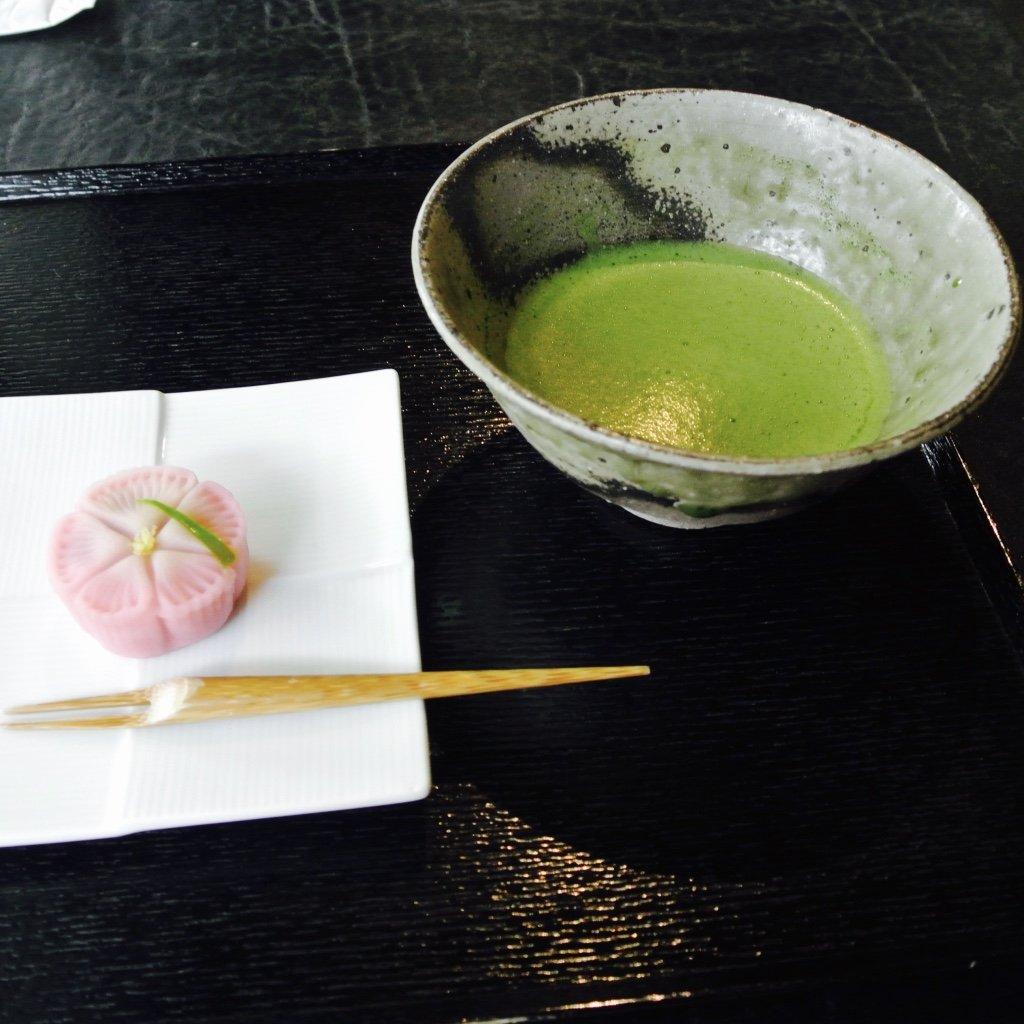 Mein Matcha Set im Jugestsu - Tokyo entdecken