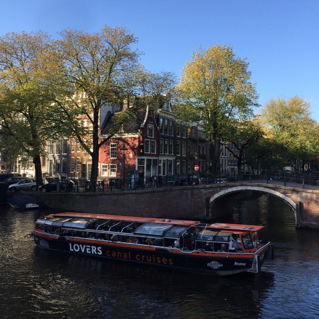 Mein Amsterdam erleben - ein Grachtenfahrt
