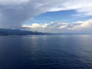 Abfahrt Savona - auf ins Mittelmeer