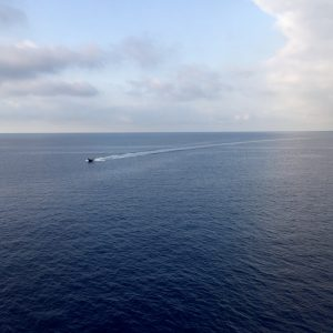 Kreuzfahrt im Mittelmeer - vor Savona