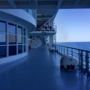 Kreuzfahrt im Mittelmeer: Seetag auf der Costa Victoria
