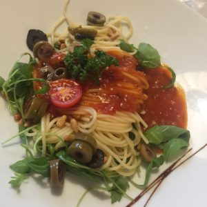 Spaghetti gehen immer!