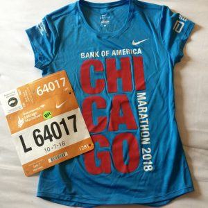Chicago Marathon 2018, mein Shirt