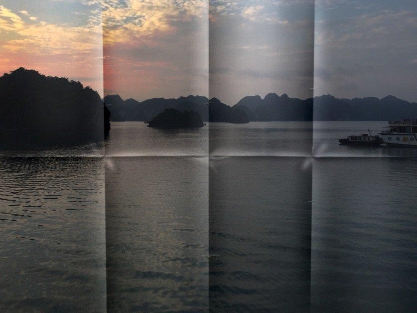 Kreuzfahrt in der Halong Bay in Vietnam