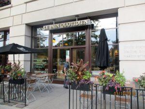 Le Pain Quotidien in der Michigan Avenue