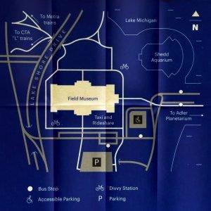 Wo ist das Field Museum in Chicago