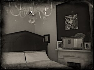 """""""Rose room"""" in the Frenchmen House in New Orleans"""