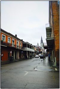 Chartres Street, New Orleans, Louisiana
