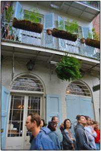 Das Falkner House mit Buchladen in New Orleans