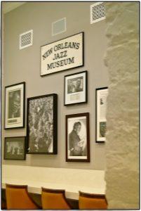 Bilder im Jazz Museum von New Orleans