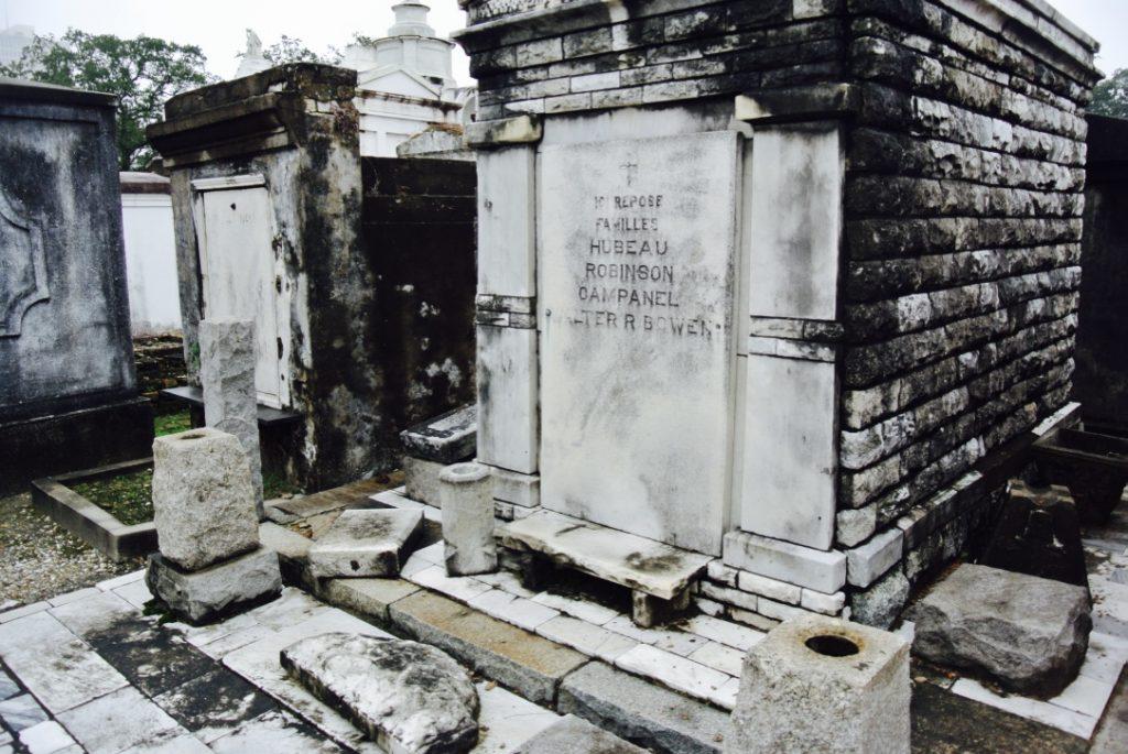 New Orleans erkunden: Friedhof St. Louis und Gräber