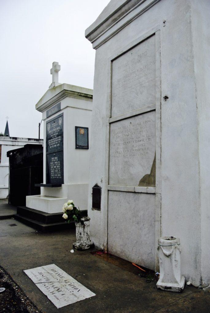 Das Grab von Marie Laveau in New Orleans