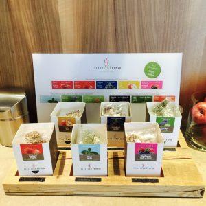 Feine Tees während des Day Spa Alpiana Resort geniessen