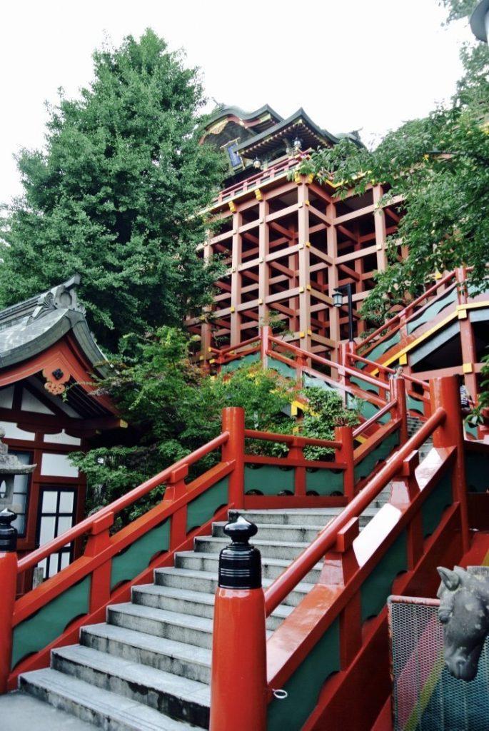 Unterwegs auf Kyushu: Yutoku Inari Schrein