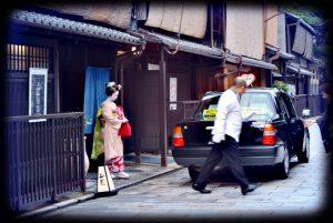 Kyoto abends entdecken, Maikos sehen