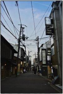 Higashiyama am Abend