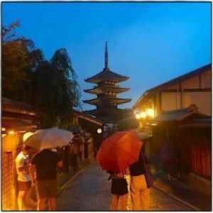 Higashiyama abends - die Yasakaa Pagode