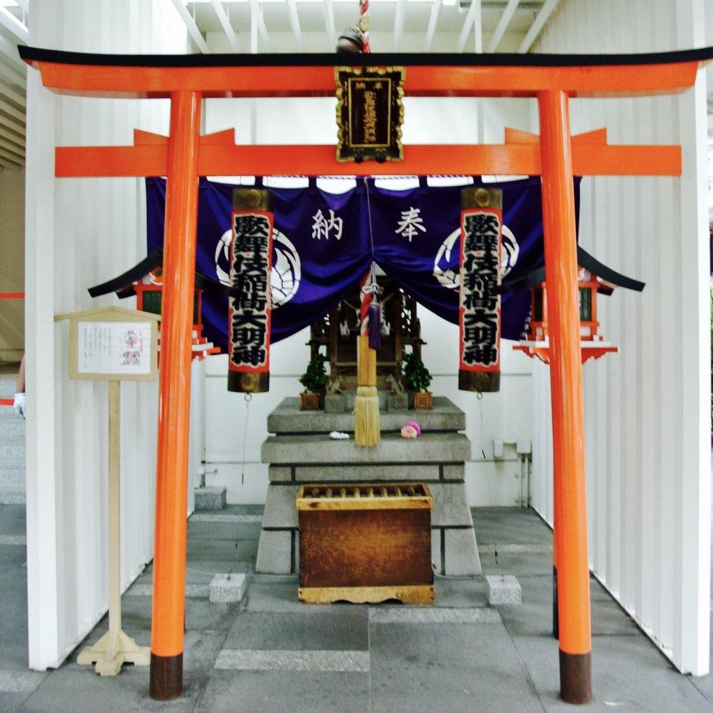 Tokyo entdecken - mein erster Schrein
