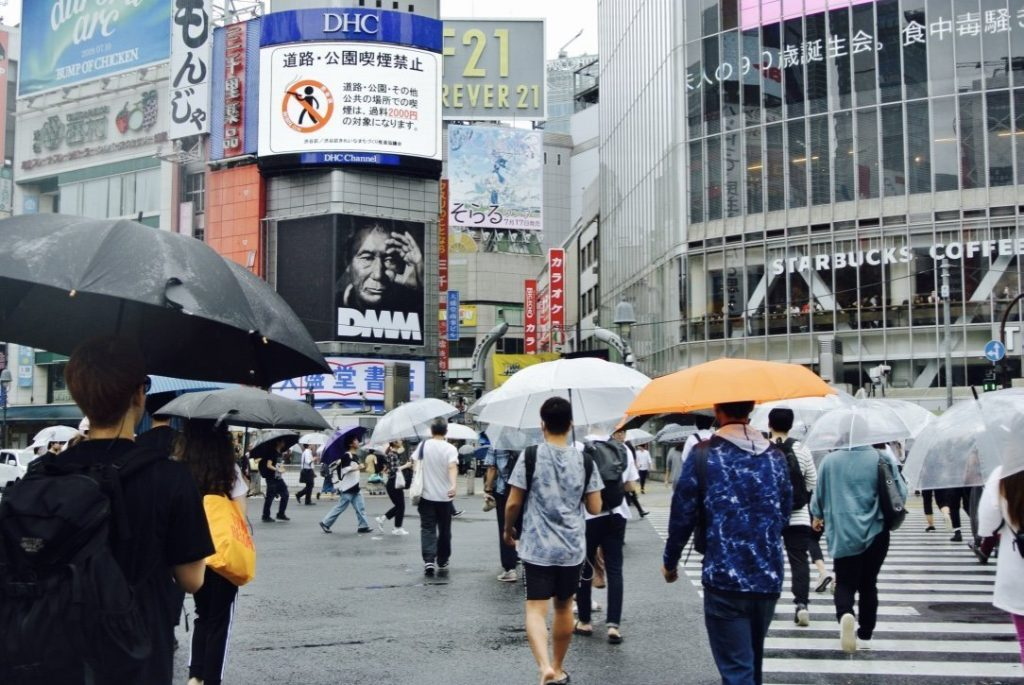 Tokyo erkunden - Shibuya Kreuzung