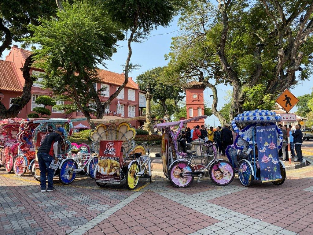 Melaka sehen - auf Kreuzfahrt in Malaysia