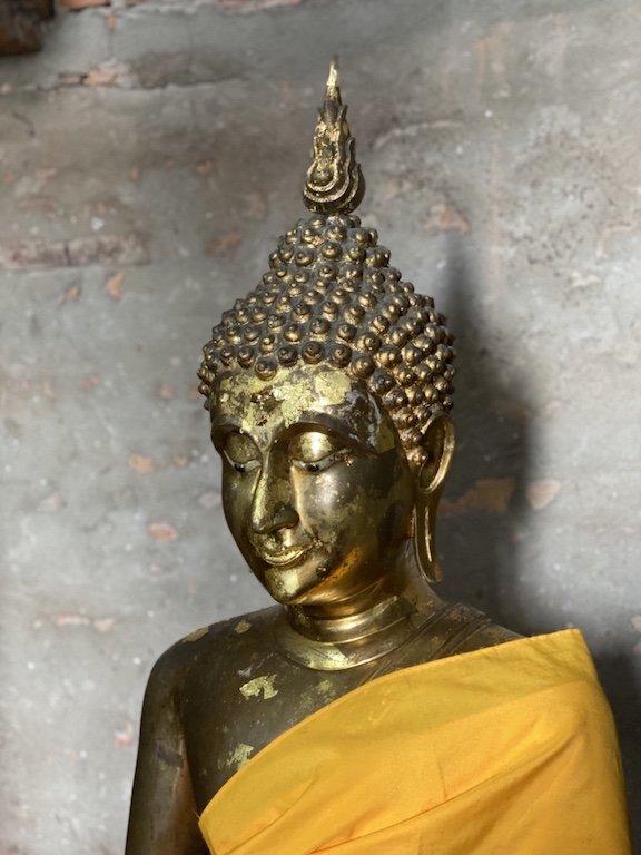 Ayutthaya in einem Tag, Ausflug Bangkok, Südostasien Kreuzfahrt Besuch des Wat Yai Chai Mongkhon