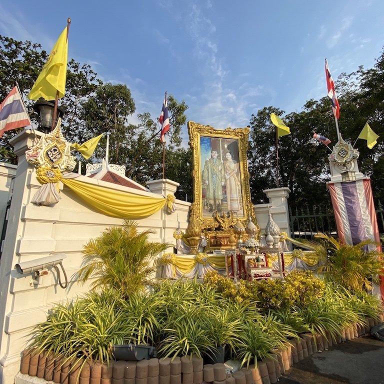 Bus Tour Bangkok, Kreuzfahrt Thailand, Bang Pa In, Sommerpalast