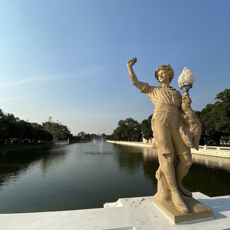 Ayutthaya, Bus Tour Bangkok, Kreuzfahrt Thailand, Bang Pa In, Sommerpalast