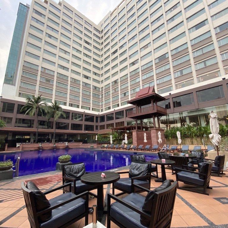 In Bangkok Ramada Hotel, Kreuzfahrt Ausflug