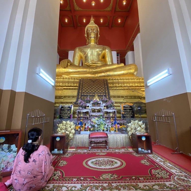 Ayutthaya in einem Tag Ausflug von Bangkok, Kreuzfahrt Südostasien, Besuch Wat Si Sanphet