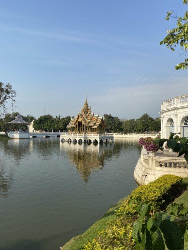 Hafen von Laem Chabang mit Sehenswürdigkeiten von Bangkok und Ayutthaya
