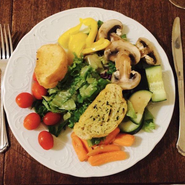 Salat - Ausflug und eine Nacht auf Oak Alley Plantation in Louisiana