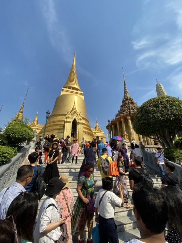 Kreuzfahrt Ausflug mit Highlights von Bangkok